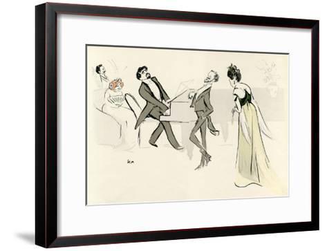 Books, Proust, Swann's Way--Framed Art Print