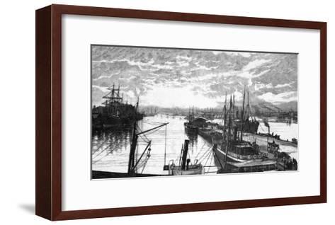Copenhagen Harbour--Framed Art Print