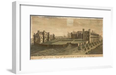Battle Abbey in Sussex--Framed Art Print