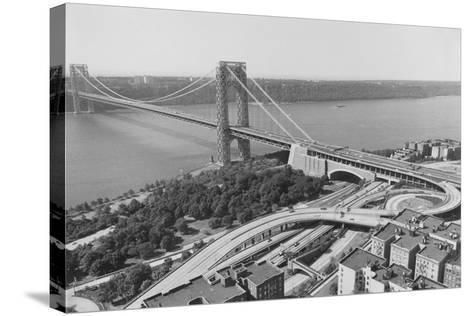 George Washington Bridge--Stretched Canvas Print