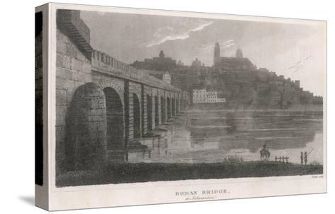 Spain, Salamanca Bridge--Stretched Canvas Print
