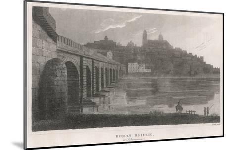 Spain, Salamanca Bridge--Mounted Giclee Print