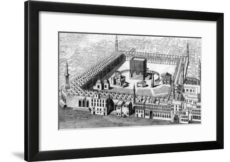 Saudi Arabia, Mecca--Framed Art Print