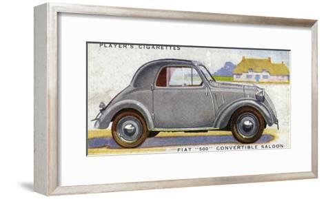 Fiat 500--Framed Art Print