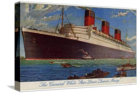 The Queen Mary--Stretched Canvas Print
