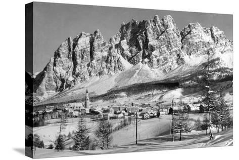 Cortina D'Empezzo--Stretched Canvas Print