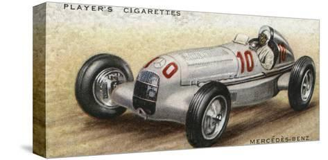 Mercedes-Benz Racer--Stretched Canvas Print