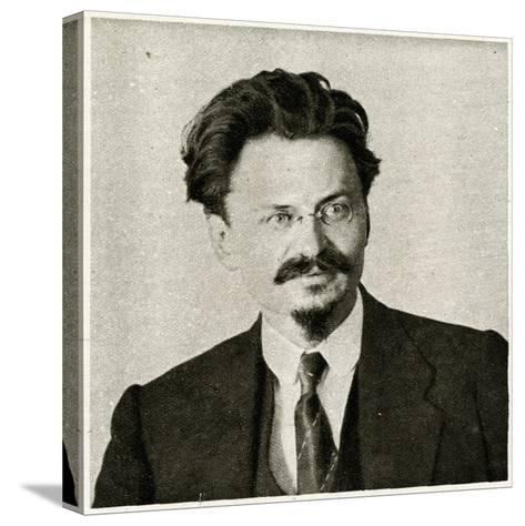 Leon Trotsky--Stretched Canvas Print