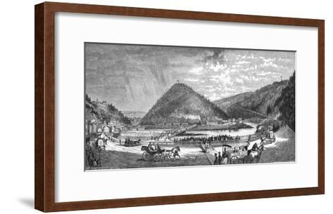Mauch Chunk Pa--Framed Art Print