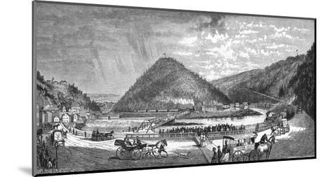 Mauch Chunk Pa--Mounted Giclee Print