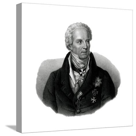 Von Hardenberg, 1750-1822--Stretched Canvas Print