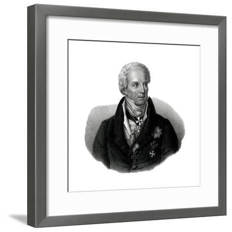 Von Hardenberg, 1750-1822--Framed Art Print