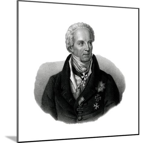 Von Hardenberg, 1750-1822--Mounted Giclee Print