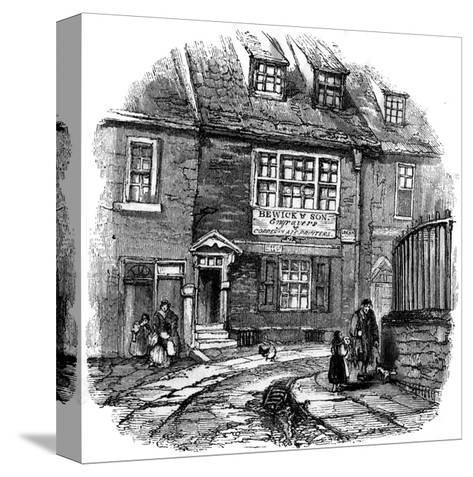 Bewick's Workshop--Stretched Canvas Print