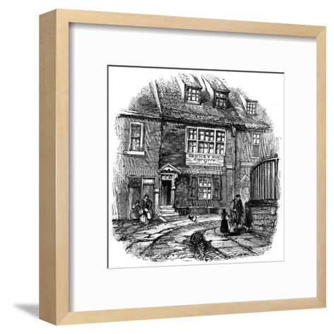 Bewick's Workshop--Framed Art Print