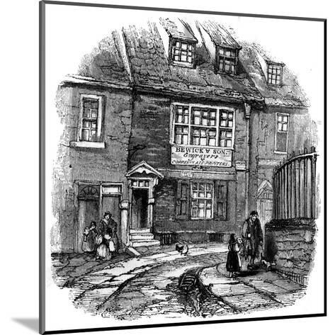 Bewick's Workshop--Mounted Giclee Print