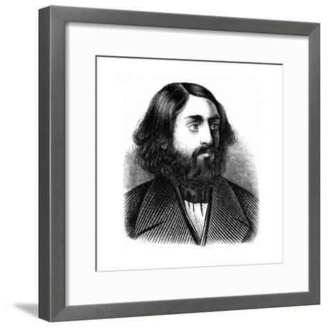 Selig Slonimski--Framed Art Print