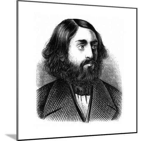 Selig Slonimski--Mounted Giclee Print