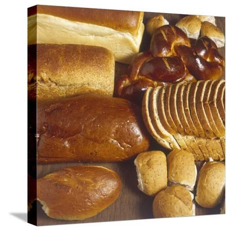 Lots of Bread--Stretched Canvas Print
