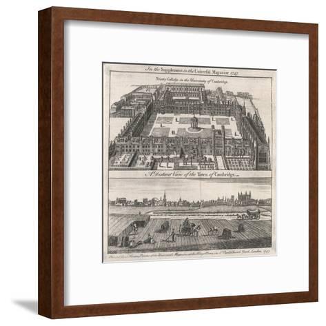 Trinity Coll., Cambridge--Framed Art Print