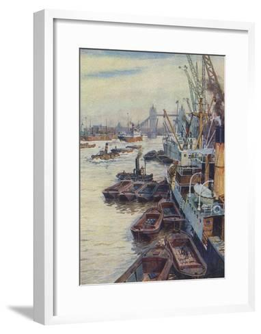 The Pool of London--Framed Art Print
