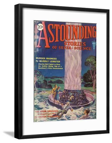 Atom Smasher, Astndng Sty--Framed Art Print