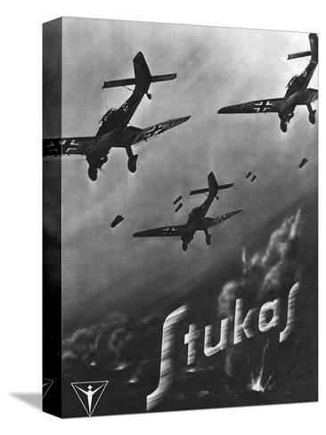The Stuka Advertised--Stretched Canvas Print