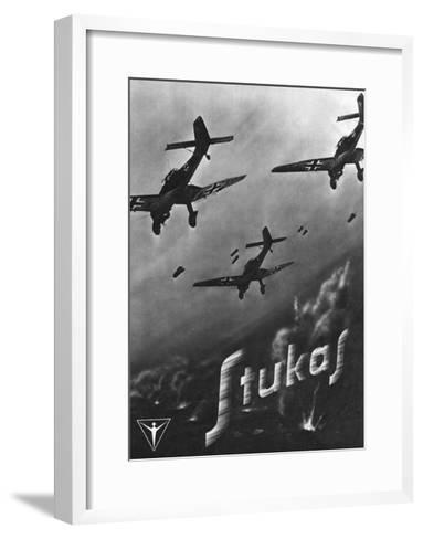 The Stuka Advertised--Framed Art Print