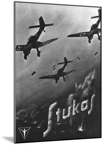 The Stuka Advertised--Mounted Giclee Print