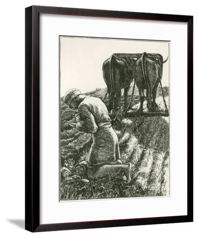 The Hidden Treasure--Framed Art Print