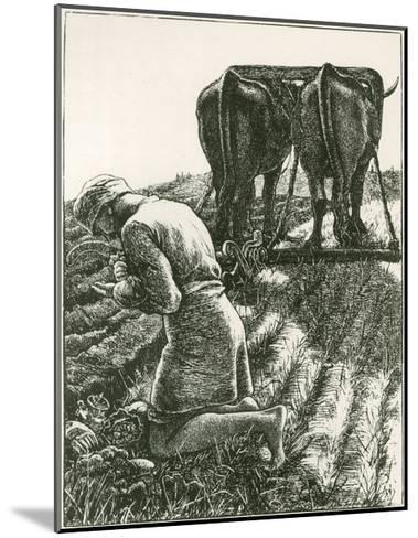 The Hidden Treasure--Mounted Giclee Print