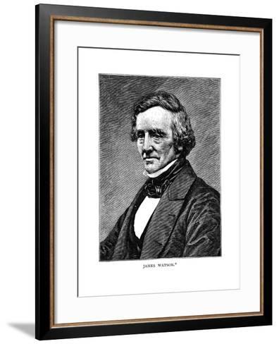 James Watson--Framed Art Print