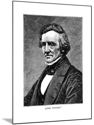 James Watson--Mounted Giclee Print