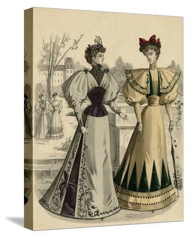 Costume of 1890S--Stretched Canvas Print