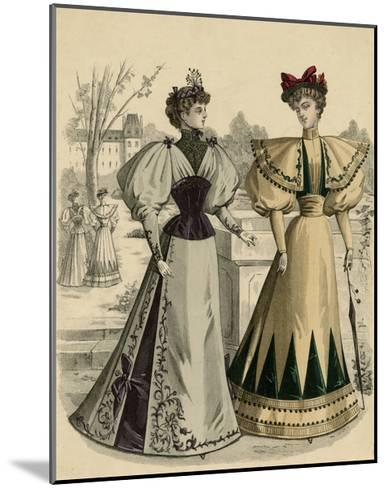 Costume of 1890S--Mounted Giclee Print