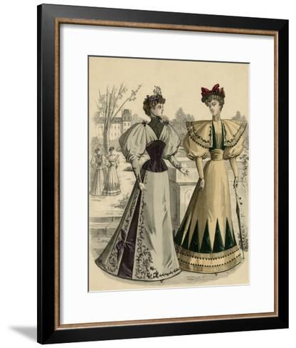 Costume of 1890S--Framed Art Print