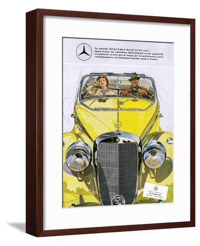 Mercedes Benz 170 S--Framed Art Print