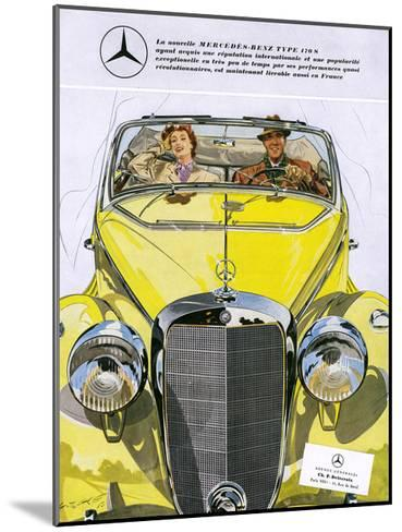 Mercedes Benz 170 S--Mounted Giclee Print