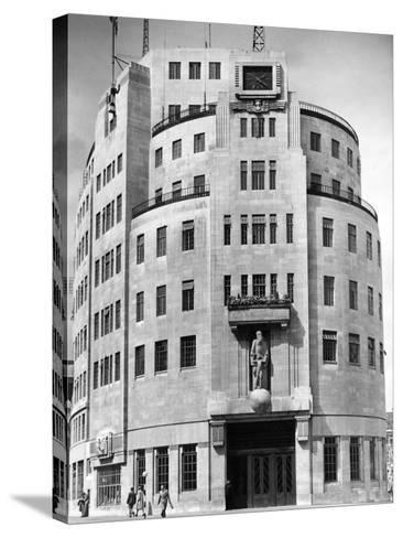 Broadcasting House 1948--Stretched Canvas Print