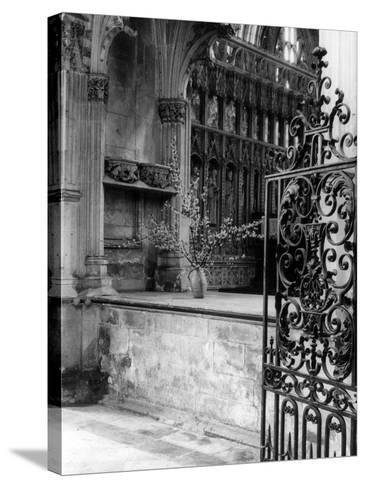 Beverley Minster Gate--Stretched Canvas Print