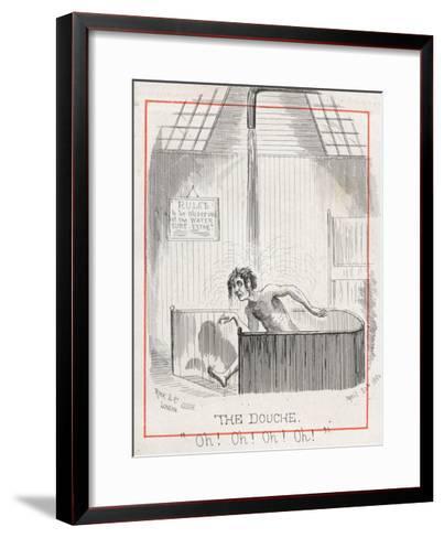 Malvern Water Cure--Framed Art Print