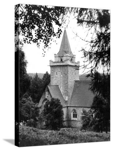 Crathie Church--Stretched Canvas Print