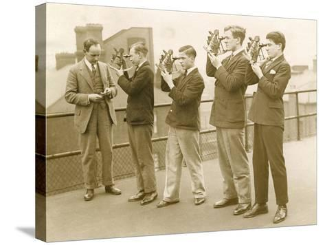 Nautical Students 1930s--Stretched Canvas Print