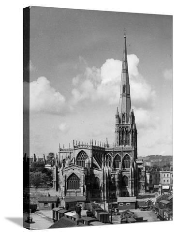 St. Mary Redcliffe--Stretched Canvas Print