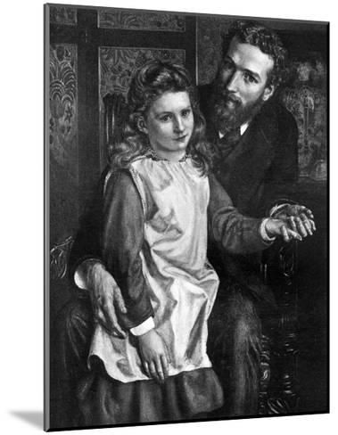 Gertrude Bell with Her Father, Sir Hugh Bell--Mounted Giclee Print