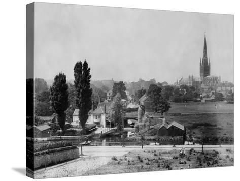 Norwich--Stretched Canvas Print