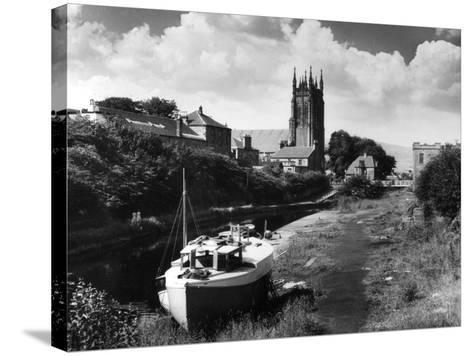 Forth - Clyde Canal--Stretched Canvas Print