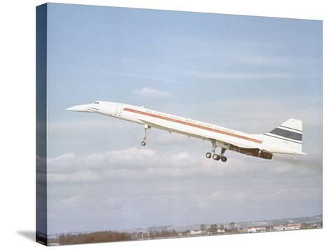 Concorde 002 Flies 1969--Stretched Canvas Print