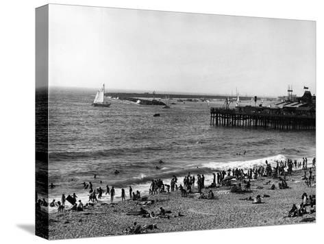 Redondo Beach--Stretched Canvas Print