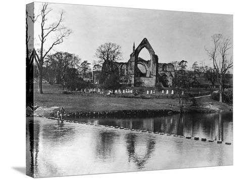Bolton Abbey--Stretched Canvas Print